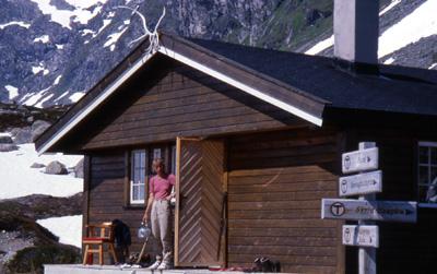 Norwegische Hütte