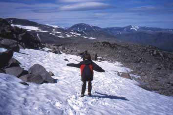 Bild Schneefeld Jotunheimen